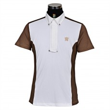 Мужская рубашка-поло George H Morris Champion, США, с коротким рукавом, для стартов