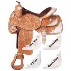 Седло Вестерн Премиум класса, для лошади, разные расцветки